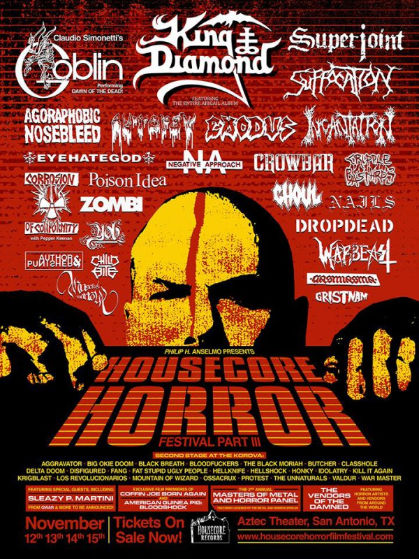 PhilAnselmo-HOUSECORE-HORROR-FESTIVAL
