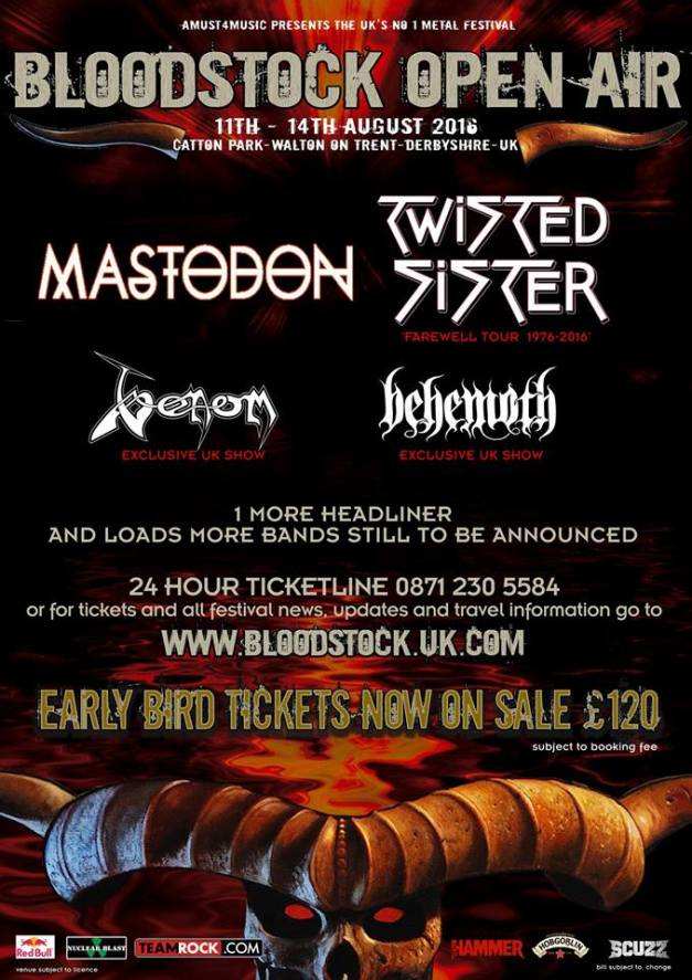 Twisted Sister Bloodstock