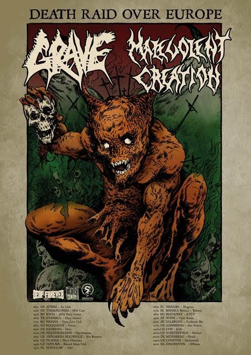 Grave Malevolent Creation Tour