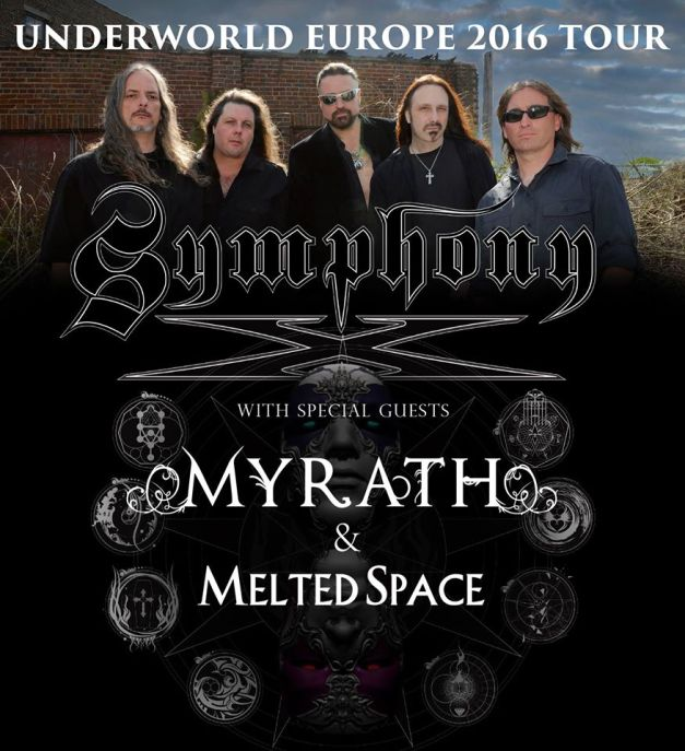 Myrath Symphony X Tour 2016