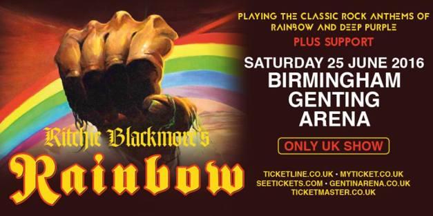 Ritchie Blackmore Birmingham