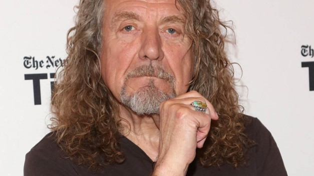 "NEW YORK, NY - OCTOBER 10:  Musician Robert Plant attends ""TimesTalks Presents: An Evening With Robert Plant"" at Times Center on October 10, 2014 in New York City.  (Photo by Taylor Hill/Getty Images)"