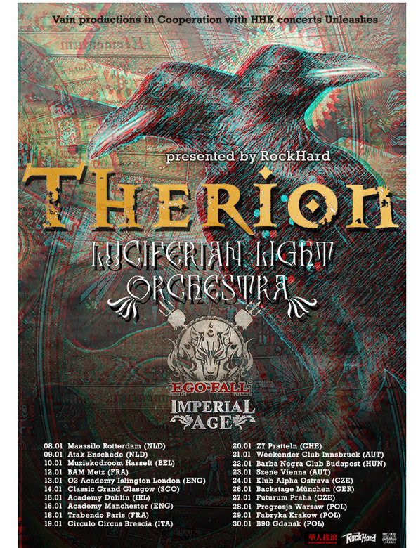 Therion Tour 2016