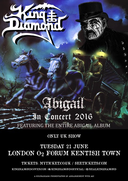 King Diamond UK Show