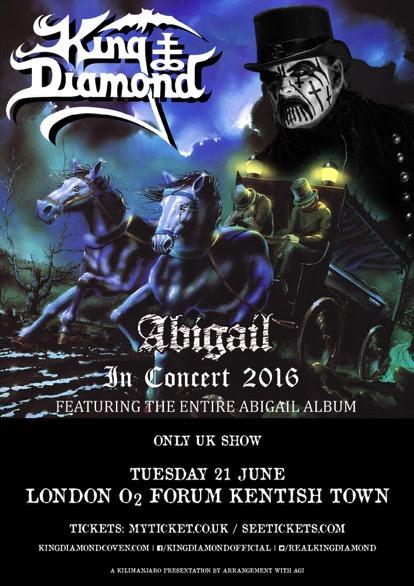 King Diamond UK Show