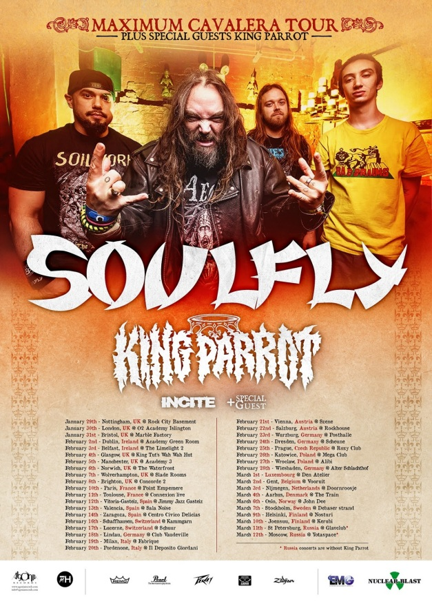 KIng Parrot Tour 2016