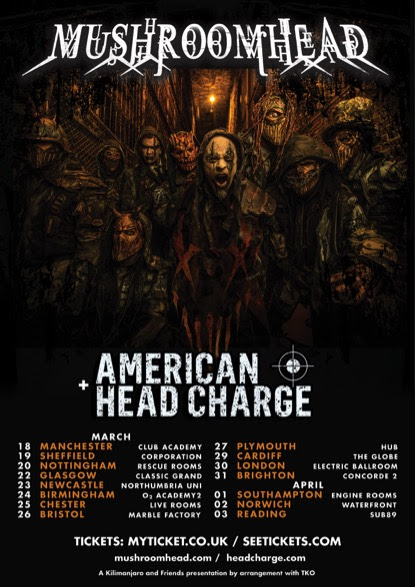 Mushroomhead UK Tour 2016
