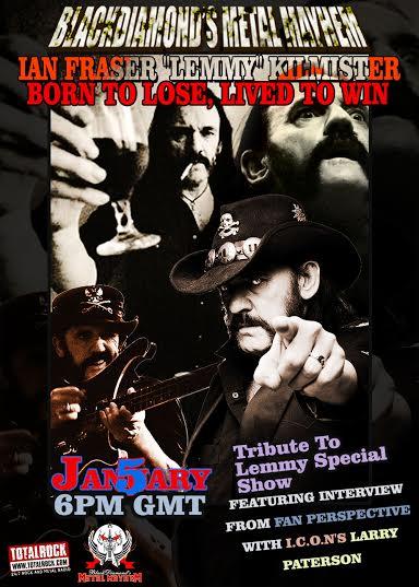 BDMM Lemmy Tribute Show