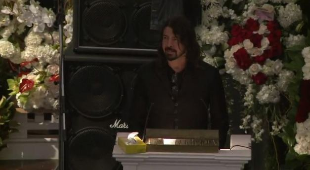 Dave Grohl Lemmy Memorial