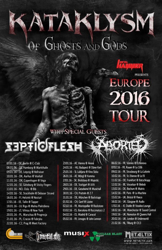Kataklysm UK Tour 16