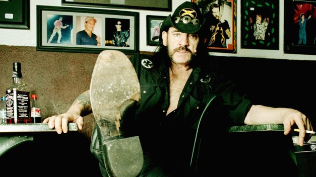 UNITED STATES - MAY 01:  Photo of LEMMY; Lemmy in LA May 2004...Rainbow Bar and GRill  (Photo by Eamonn McCabe/Redferns)