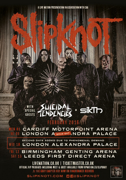 Slipknot-tour