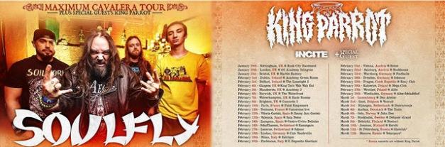 Soulfly UK Tour 2016
