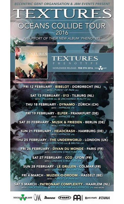 Textures Tour Poster 2016