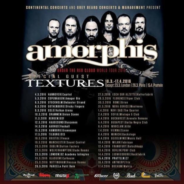 Amorphis Tour 2016