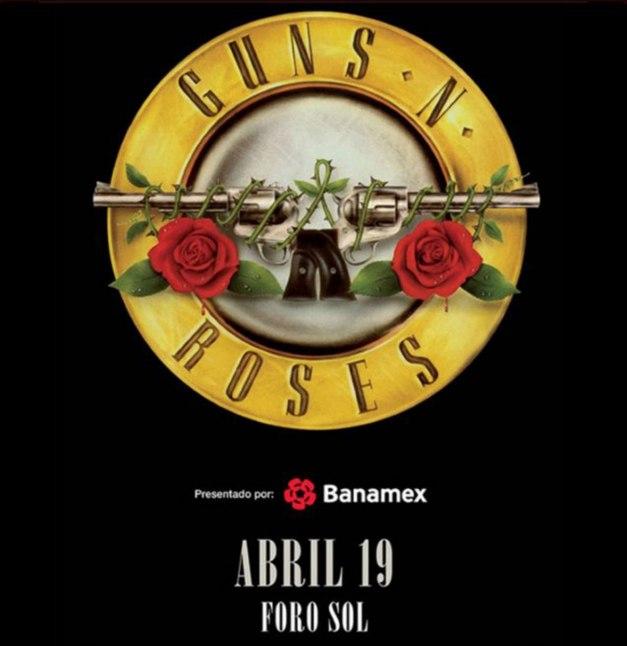 Guns N Roses Mexico 2016
