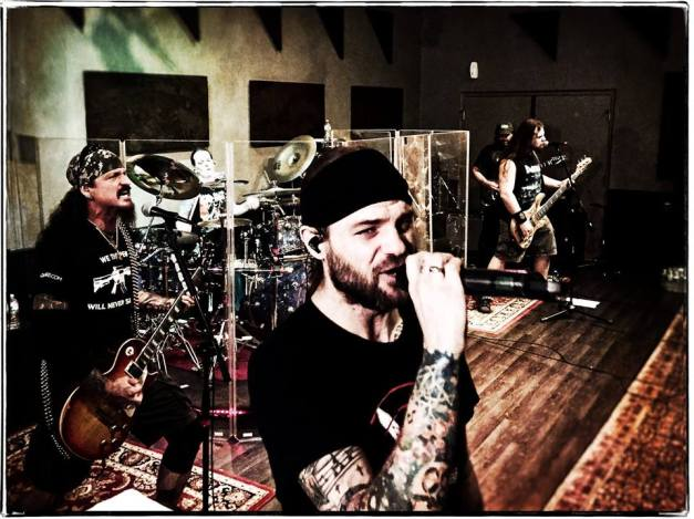 Iced Earth Rehearsals 2016 3