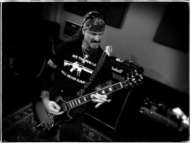 Jon Schaffer Iced Earth Rehearsals 2016