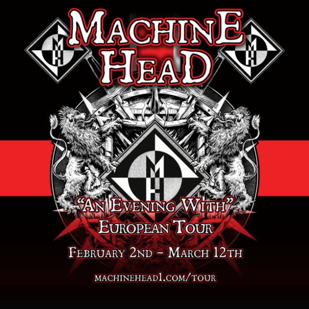 Machine Head European Tour 2016