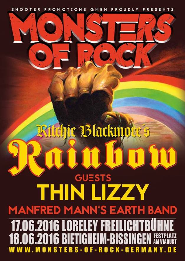 Monsters Of Rock 2016 Thin Lizzy