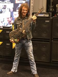 NAMM 2016 Peter Baltes