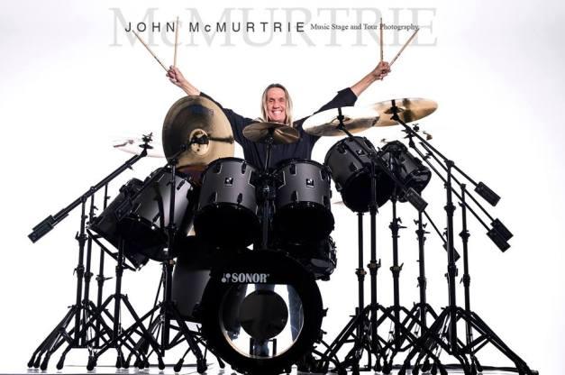 Nicko McBrain Sonor Drums