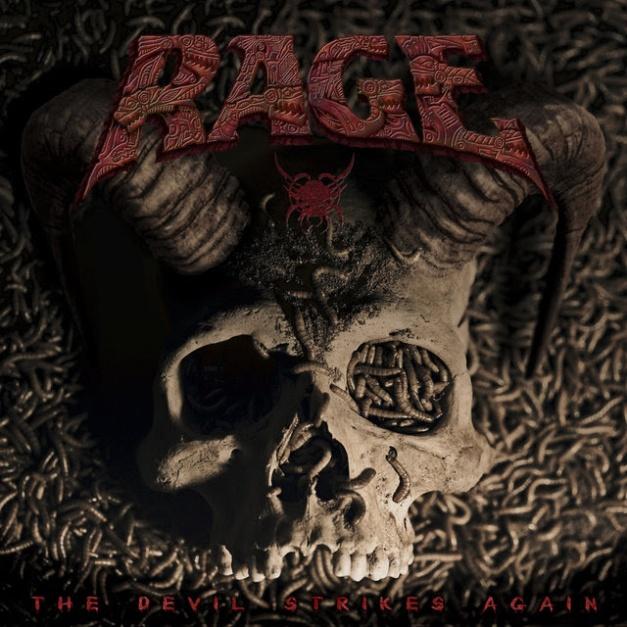 Rage The Devil Strikes Again Cover Art