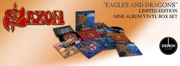 Saxon Eagles and Dragons