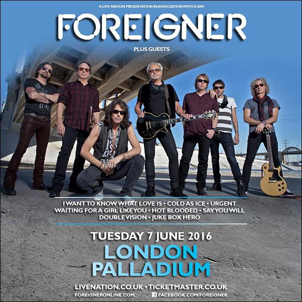 Foreigner 2016