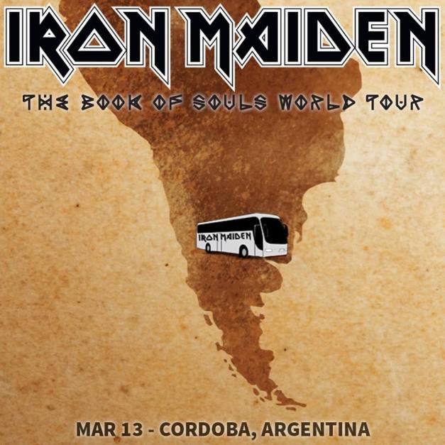 Iron Maiden Argentina 2016