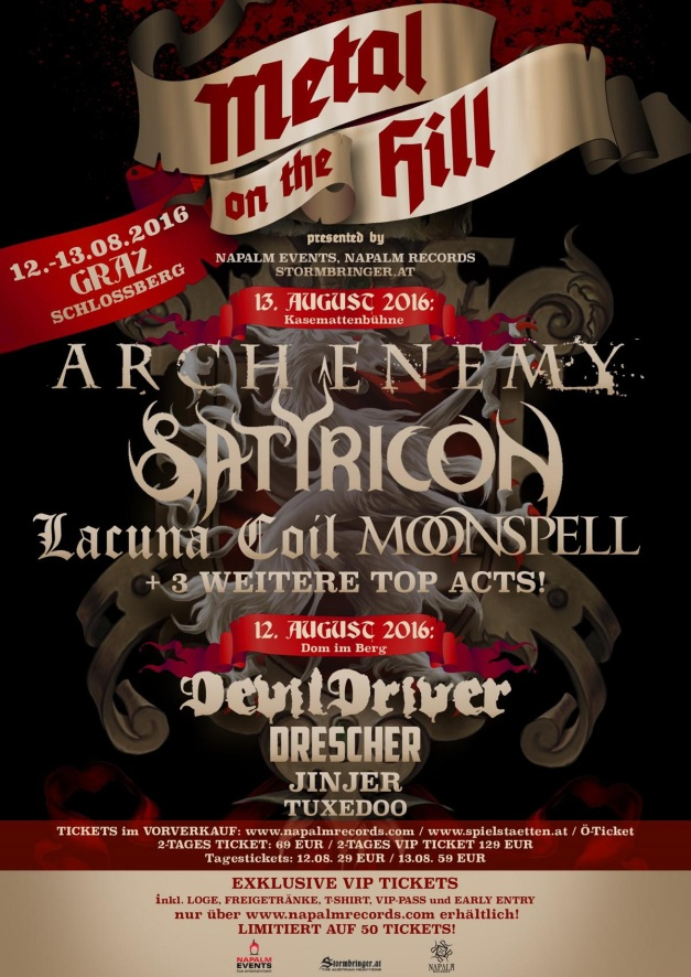 Metal On The Hill Festival 2016