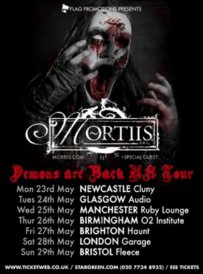 Mortiis UK Tour 2016