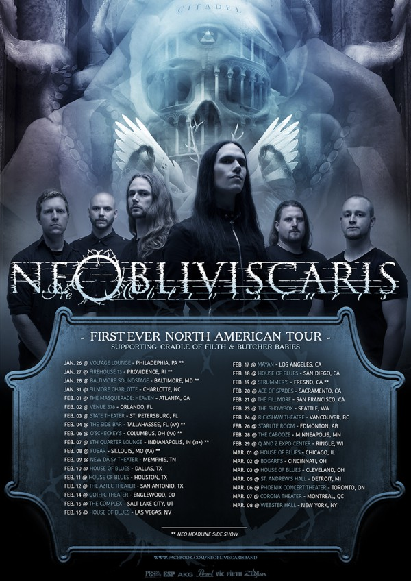 NeOblivicaris-tour