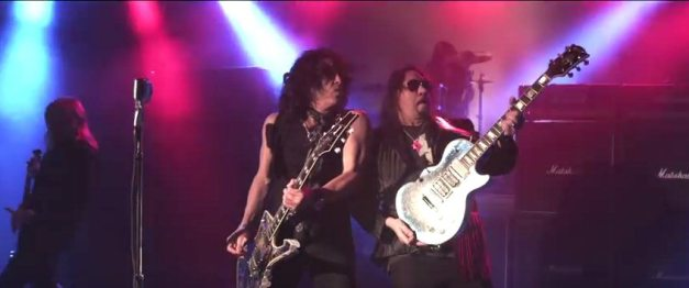 AceFrehley-PaulStanley-FireAndWater-video