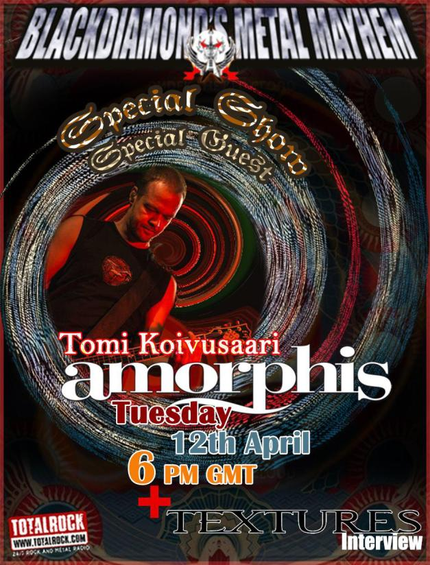 BDMM Amorphis Tomi Show