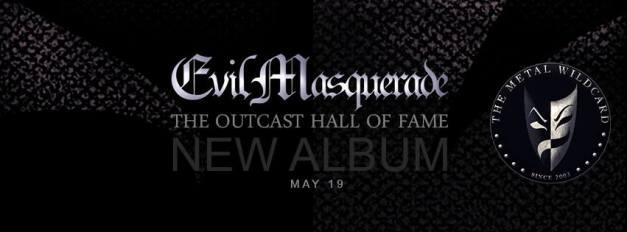 Evil Masquerade Album Cover 2016