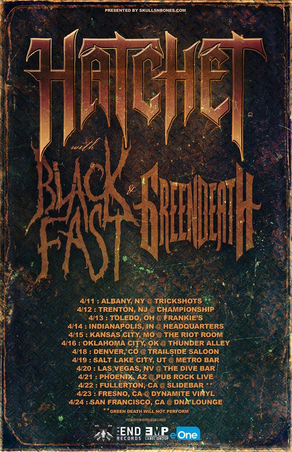 Green Death Tour 2016