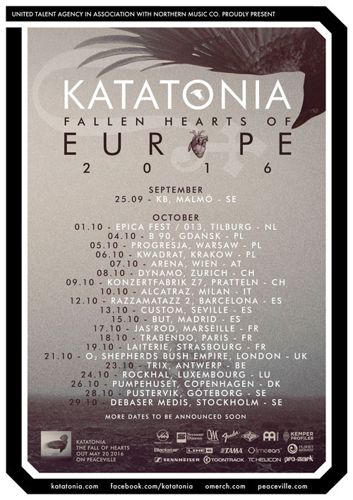 Katatonia-Euro-tour