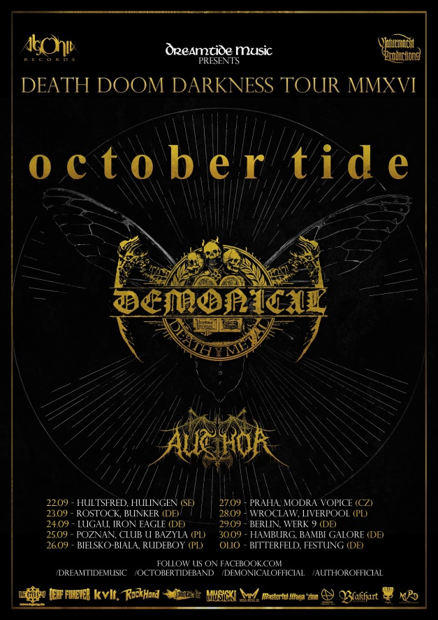 October Tide Tour 2016