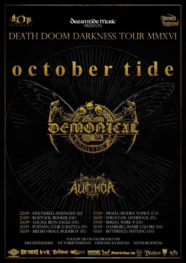 October Tide Tour 2016