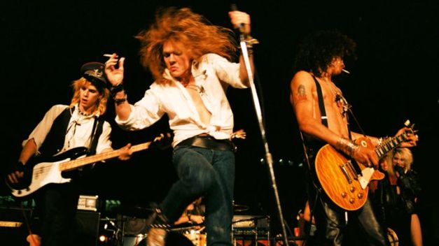 The reunited Guns N' Roses have officially mapped out their 20-date, stadium-invading Not in This Lifetime Tour. Marc Canter/The Hell Gate/Corbis