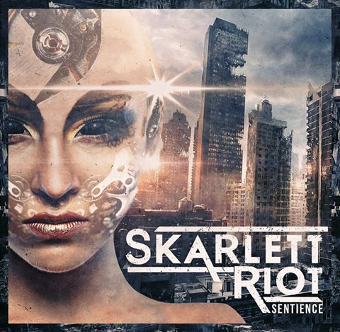 Skarlett Riot Sentience Cover Art