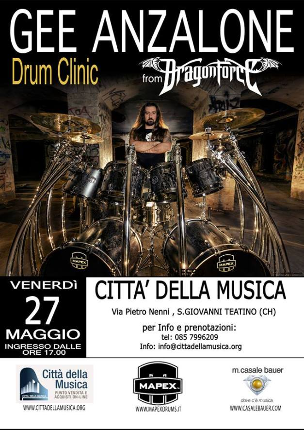 GeeAnzalone-Dragonforce-drum-clinic