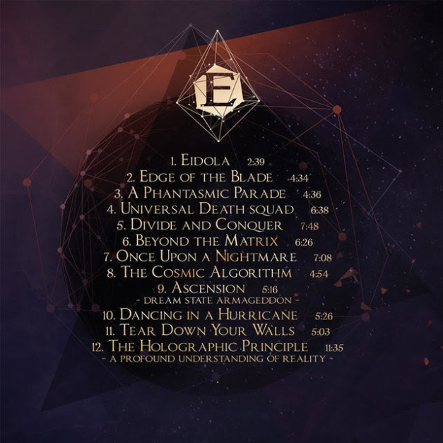 Epica The Holographic Principle Track List