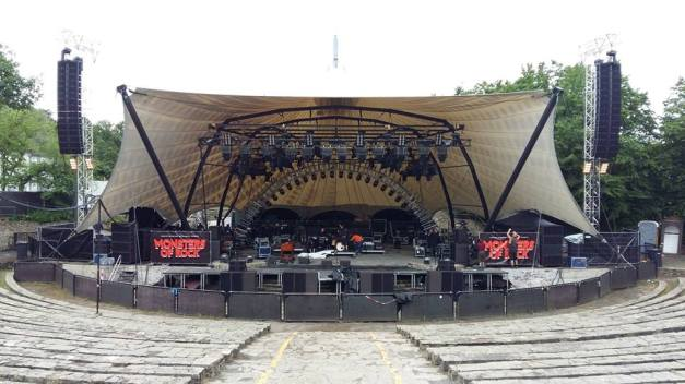 Ritchie Blackmore's Rainbow Monsters Of Rock Stage