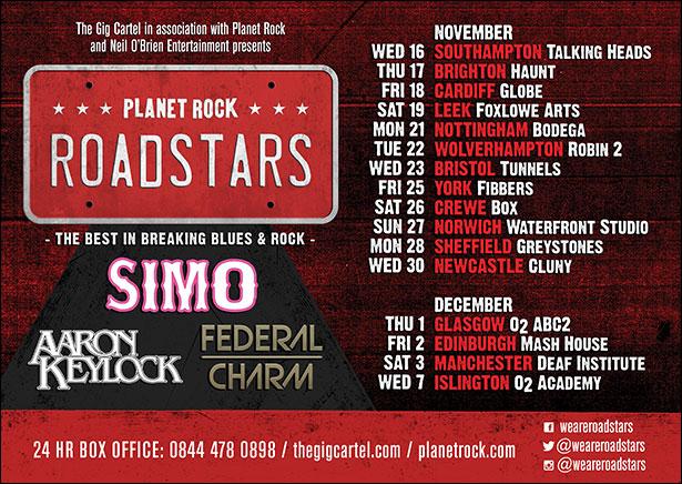 Roadstars UK Tour