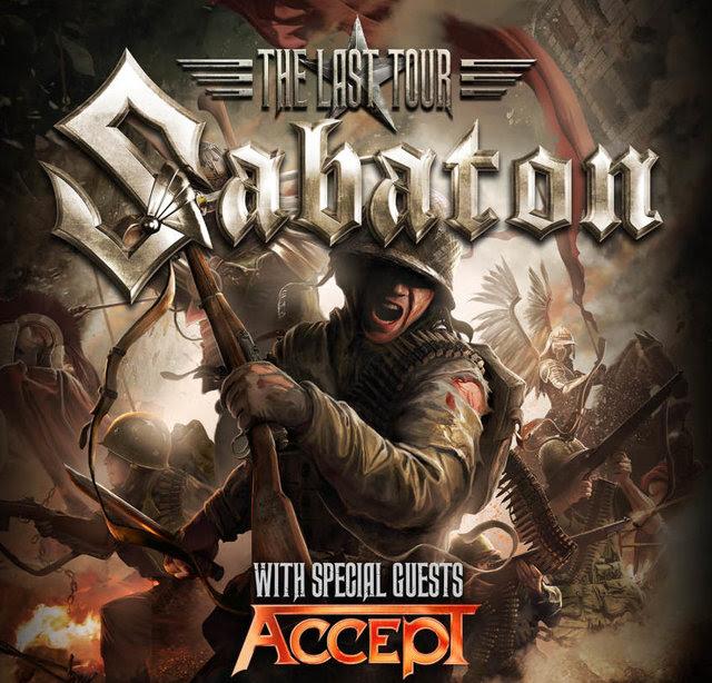 Sabaton with Accept Tour