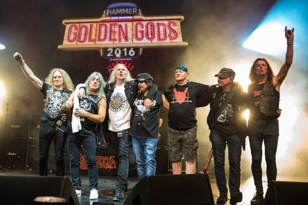 Tribute To Lemmy Golden Gods 2016