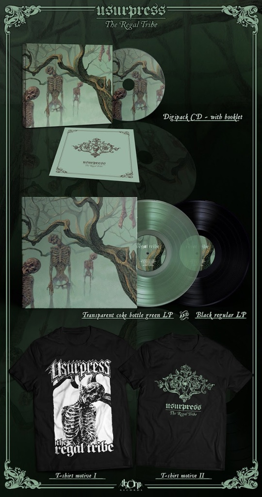 Usurpress Cover Art Vinyl