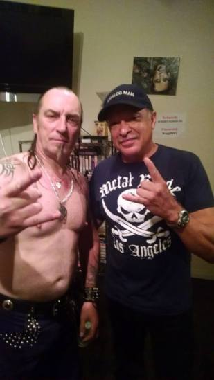 Bill Metoyer with Jeff Dunn